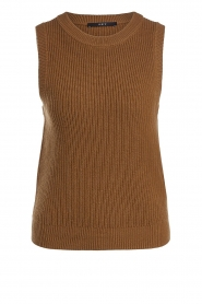 Set |  Knitted spencer Farah | brown  | Picture 1
