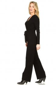 Aaiko |  Jumpsuit Stacy | black  | Picture 4