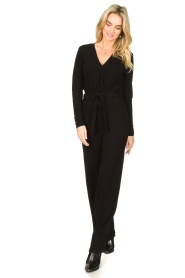 Aaiko |  Jumpsuit Stacy | black  | Picture 3