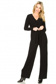 Aaiko |  Jumpsuit Stacy | black  | Picture 2