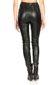 Aaiko |  Faux leather leggings Peach | black  | Picture 6