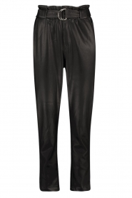 Aaiko |  Faux leather pants Pamalla | black  | Picture 1