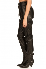 Aaiko |  Faux leather pants Pamalla | black  | Picture 7
