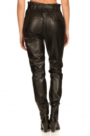 Aaiko |  Faux leather pants Pamalla | black  | Picture 8