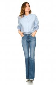 Set |  Cotton blouse Fay | blue  | Picture 3