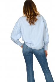 Set |  Cotton blouse Fay | blue  | Picture 7