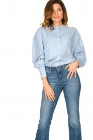 Set |  Cotton blouse Fay | blue  | Picture 2