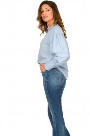 Set |  Cotton blouse Fay | blue  | Picture 6