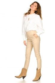 Set |  Cotton blouse Fay | white  | Picture 3