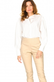 Set |  Cotton blouse Fay | white  | Picture 4