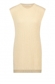 Aaiko |  Knitted spencer Mava | beige  | Picture 1