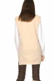 Aaiko |  Knitted spencer Mava | beige  | Picture 7