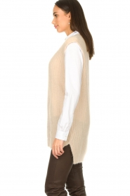 Aaiko |  Knitted spencer Mava | beige  | Picture 6