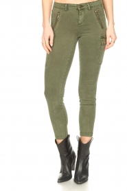 Set |  Cargo pants Flore | green  | Picture 5