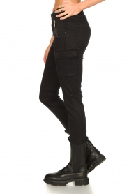 Set |  Cargo pants Flore | black  | Picture 5