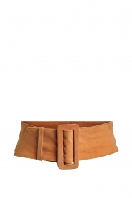 Set |  Leather waist belt
