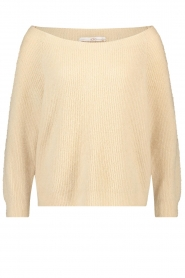 Aaiko    Boat neck sweater Michelle   natural    Picture 1