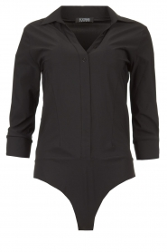 D-ETOILES CASIOPE |  Travelwear body blouse Anna | black  | Picture 1