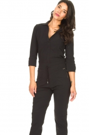 D-ETOILES CASIOPE |  Travelwear body blouse Anna | black  | Picture 2