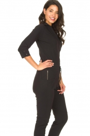 D-ETOILES CASIOPE |  Travelwear body blouse Anna | black  | Picture 5