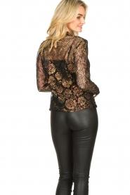 Aaiko |  Lace blouse Lott | black  | Picture 7