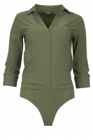 D-ETOILES CASIOPE |  Travelwear body blouse Anna | green  | Picture 1