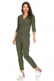 D-ETOILES CASIOPE |  Travelwear body blouse Anna | green  | Picture 3