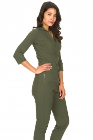 D-ETOILES CASIOPE |  Travelwear body blouse Anna | green  | Picture 7