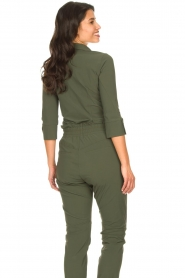 D-ETOILES CASIOPE |  Travelwear body blouse Anna | green  | Picture 8
