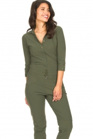 D-ETOILES CASIOPE |  Travelwear body blouse Anna | green  | Picture 6