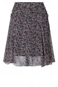 Second Female |  Floral skirt Kaylan | black  | Picture 1