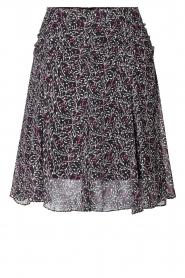 Second Female |  Floral skirt Kaylan | black  | Picture 1