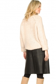 Second Female |  Knitted turtleneck Ivory | beige  | Picture 6