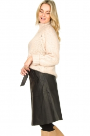 Second Female |  Knitted turtleneck Ivory | beige  | Picture 5