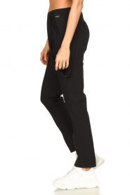 D-ETOILES CASIOPE |  Travelwear pants with suspenders Auray | black  | Picture 6