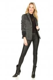 Liu Jo |  Glitter blazer Milano | grey  | Picture 3