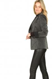 Liu Jo |  Glitter blazer Milano | grey  | Picture 5
