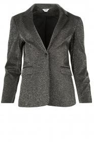 Liu Jo |  Glitter blazer Milano | grey  | Picture 1