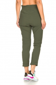 D-ETOILES CASIOPE |  High waist travelwear pants Aqua | green  | Picture 6