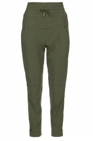 D-ETOILES CASIOPE |  High waist travelwear pants Aqua | green  | Picture 1