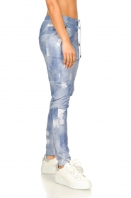 D-ETOILES CASIOPE |  Travelwear printed pants Alba | blue  | Picture 6