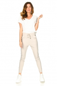 D-ETOILES CASIOPE |  Travelwear pants Guet | natural  | Picture 2