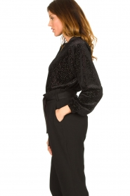 Second Female | Sweater with lurex Nancy | black  | Picture 6