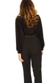 Second Female | Sweater with lurex Nancy | black  | Picture 7