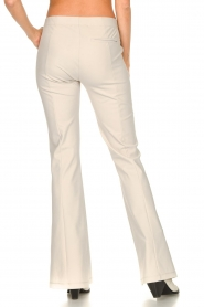 D-ETOILES CASIOPE |  Travelwear flared pants Rodez | natural  | Picture 8
