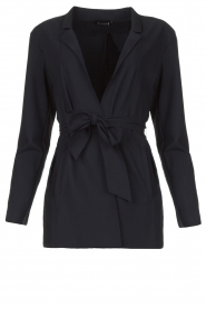 D-ETOILES CASIOPE    Travelwear blazer with belt Anais   blue    Picture 1