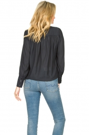 Second Female |  Blouse with puff sleeves Sicily | black  | Picture 5
