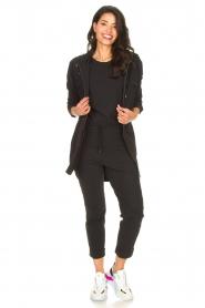 D-ETOILES CASIOPE | Travelwear parka Avocat | zwart   | Afbeelding 3