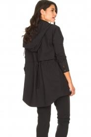 D-ETOILES CASIOPE | Travelwear parka Avocat | zwart   | Afbeelding 7
