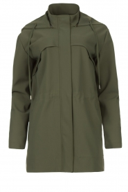 D-ETOILES CASIOPE |  Travelwear parka Avocat | green  | Picture 1